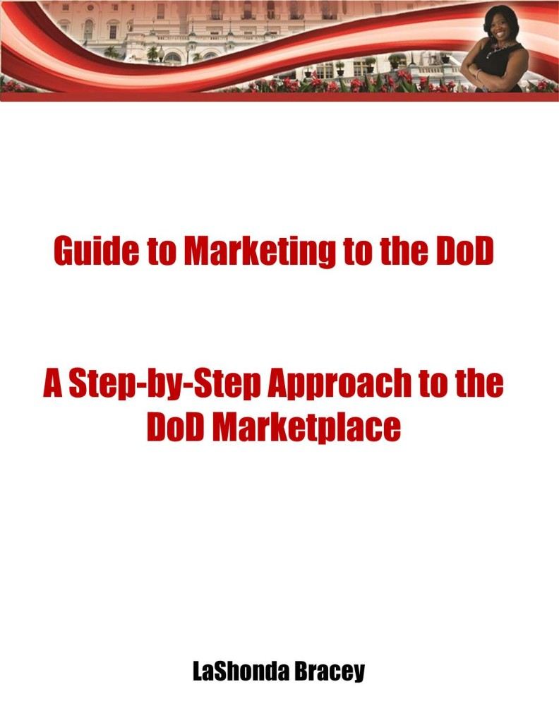 Guide to Marketing to the DoD Cover